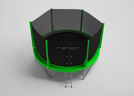 Батут Optifit Jump 6FT зеленый